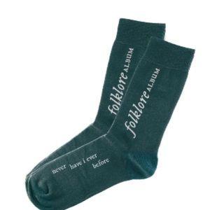 T.Swift merch socks with lyrics